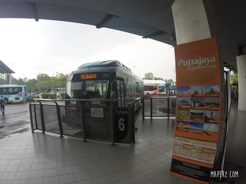 Putrajaya Sightseeing Bus Tour